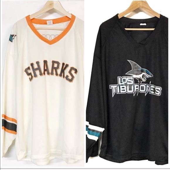 ae71da8cd5e hockey Shirts | Rare Limited Edition San Jose Sharks Jerseys Med ...